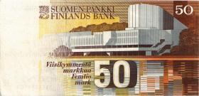 Finnland / Finland P.114 50 Markkaa 1986 (3+)