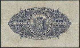 Finnland / Finland P.003c 10 Markkaa 1898 (3)