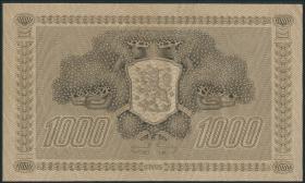 Finnland / Finland P.067 1000 Markkaa 1922 (1941-44) (2)