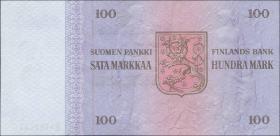 Finnland / Finland P.109 100 Markkaa 1976 Snellman (1-)