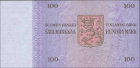 Finnland / Finland P.109 100 Markkaa 1976 * Snellman (1)