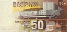 Finnland / Finland P.118 50 Markkaa 1986 (1-)