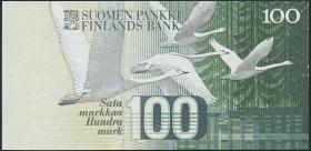 Finnland / Finland P.119 100 Markkaa 1986 (1)