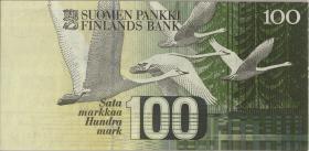 Finnland / Finland P.119 100 Markkaa 1986 (1-)