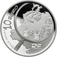Frankreich 10 Euro 2013 Asterix