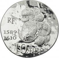 Frankreich 10 Euro 2013 Henri IV.
