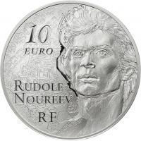 Frankreich 10 Euro 2013 Kunst: Nurejew