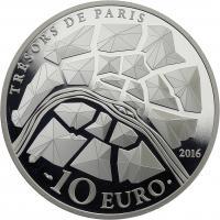 Frankreich 10 Euro 2016 Pariser Oper