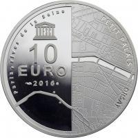 Frankreich 10 Euro 2016 Musée d'Orsay