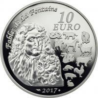 Frankreich 10 Euro 2017 Jahr des Hahns
