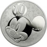 Frankreich 10 Euro 2018 Disney - Mickey und seine Freunde