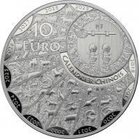 Frankreich 10 Euro 2020 Jahr der Ratte