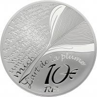Frankreich 10 Euro 2021 La Fontaine