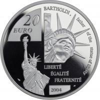 Frankreich 20 Euro 2004 Bartholdi