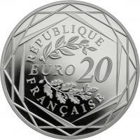 Frankreich 20 Euro 2017 Marianne