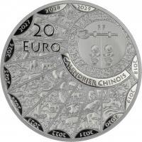 Frankreich 20 Euro 2020 Jahr der Ratte