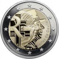 Frankreich 2 Euro 2020 Charles de Gaulle PP