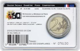 Frankreich 2 Euro 2019 Asterix Blister Motiv Obelix