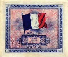 Frankreich / France P.115a 5 Francs 1944 (3)