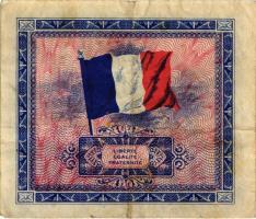 Frankreich / France P.115b 5 Francs 1944 Block 2 (3)