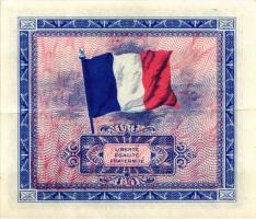 Frankreich / France P.116a 10 Francs 1944 (2)