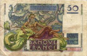 Frankreich / France P.127b 50 Francs 1947 (4)