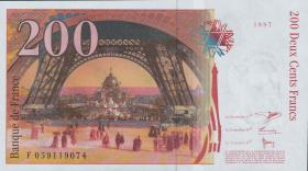 Frankreich / France P.159 200 Francs 1997 (1)