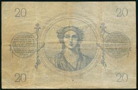 Frankreich / France P.055 20 Francs 1873 (3)