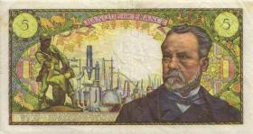 Frankreich / France P.146b 5 Francs 1969 Louis Pasteur (3-)