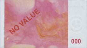 Frankreich / France Euro-Testbanknote der Banque de France 100 Euro (1)
