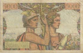 Frankreich / France P.131c 5000 Francs 1953 (4)