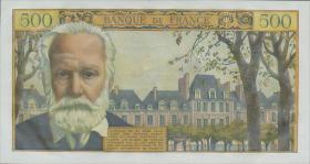 Frankreich / France P.137b 5 NF a. 500 Francs 1959 (1)