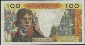 Frankreich / France P.144 100 NF 1962 Napoleon Bonaparte (3)
