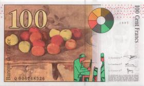 Frankreich / France P.158 100 Francs 1997 (1)