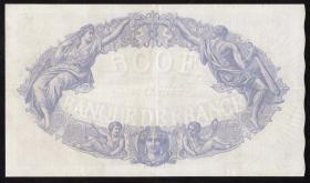 Frankreich / France P.066m 500 Francs 1933 (3+)