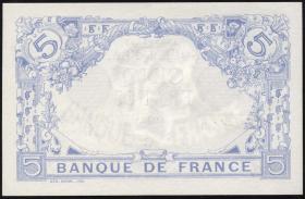 Frankreich / France P.070 5 Francs 1915 (1)