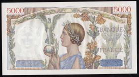 Frankreich / France P.097a 5000 Francs 20.7.1939 (1)