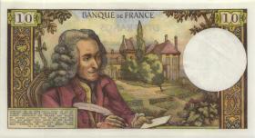 Frankreich / France P.147c 10 Francs 8.1.1971 (2/1)