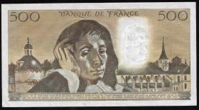 Frankreich / France P.156i 500 Francs 1992 (1)