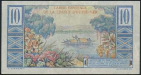 Fra.-Äquatorialafrika/F.Equatorial Africa P.21 10 Francs (1947) (2)