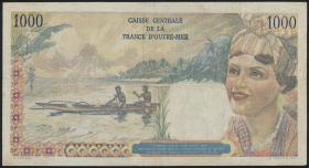 Fra.-Äquatorialafrika/F.Equatorial Africa P.26 1000 Francs (1947) (3-)