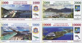 Frz. Pazifik Terr. / Fr. Pacific Terr. St. Martin (EU-Gebiet) 1000-10000 Francs 2018 (1)