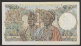 Franz. Westafrika / French West Africa P.043 5000 Francs 22.12.1950 (1)