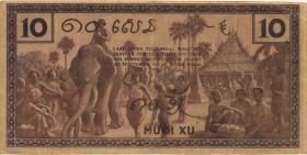 Franz. Indochina / French Indochina P.085e 10 Cents (1939) (2)