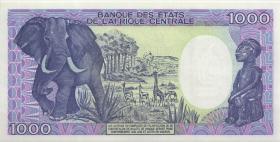 Gabun / Gabon P.10a 1000 Francs 1987 (1)