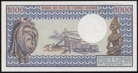 Gabun / Gabon P.03d 1000 Francs 1.4.1978 (1)