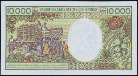 Gabun / Gabon P.07a 10000 Francs (1984) (1)