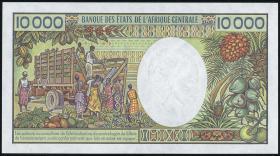 Gabun / Gabon P.07b 10.000 Francs (1991) (1/1-)