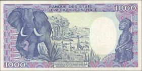 Gabun / Gabon P.09s 1000 Francs 1985 Specimen (1)