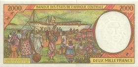 Zentral-Afrikanische-Staaten / Central African States P.403La 2000 Fr. 1993 (1)
